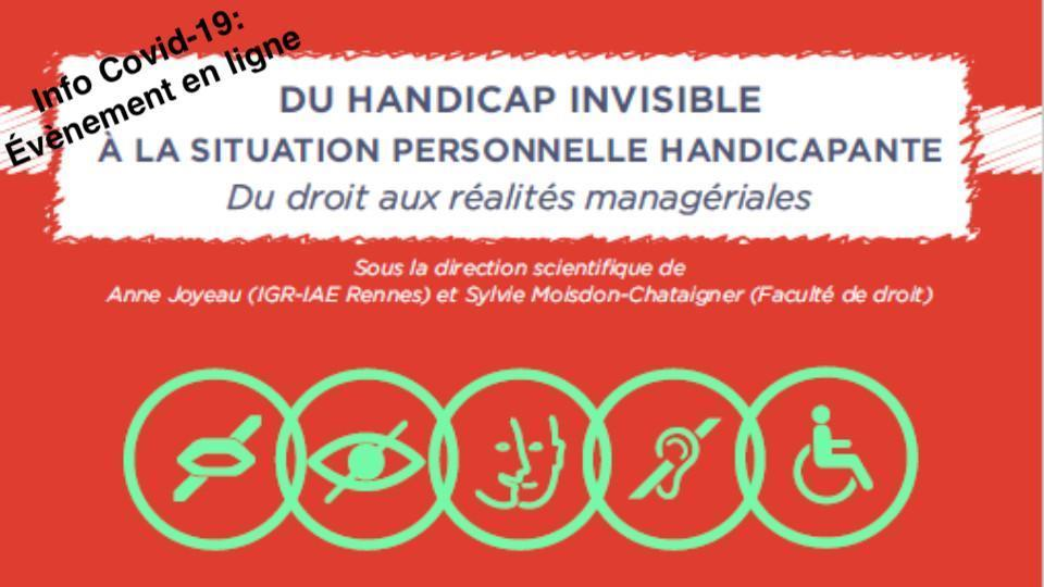 Du handicap invisible à la situation personnelle handicapante